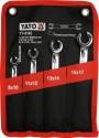 Klíče na převlečné matice sada 4ks, 8 -17mm   M58161