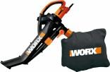 Zahradní vysavač listí WORX 3000W WG505E