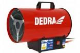 Plynové topidlo 16,5kW/230V s horkovzdušným ventilátorem 500m3/h DED9941
