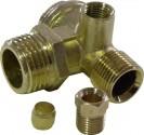 """Zpětný ventil ke kompresoru GEKO 1/2""""xM14x1/4"""" G80308"""