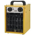 Elektrické topidlo ohřívač STREND PRO 2,0kW/230V s horkovzdušným ventilátorem 200m3/h TR119012