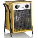 Elektrické topidlo STREND PRO 5,0kW/400V s horkovzdušným ventilátorem 470m3/h TR119192
