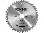Kotouč pilový vidiový EXTOL 125x22,2mm, 40 zubů  8803207