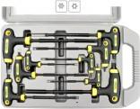 Klíče TORX  EXTOL s otvorem sada 9ks, T10-T50 CrV   8819401