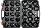 Klíče na olejové filtry YATO sada 30ks  YT-0596