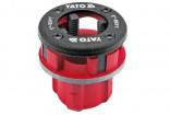 """Náhradní hlavice YATO 1/4"""" pro instalatérskou závitnici  YT-2916"""