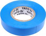 Izolační páska elektrikářská YATO PVC 15mmx20m modrá YT-81591