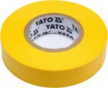 Izolační páska elektrikářská YATO PVC 15mmx20m žlutá YT-81594