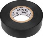 Izolační páska elektrikářská YATO PVC 19mmx20m černá  YT-8165