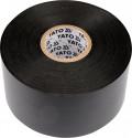 Izolační páska elektrikářská YATO PVC 55mmx33m černá  YT-8177