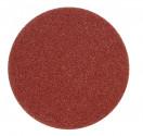 Kruhový výsek VOREL 125mm P80 se suchým zipem 5ks  08558