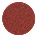 Kruhový výsek VOREL 125mm P120 se suchým zipem 5ks   08562