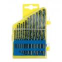 Vrtáky do kovu HSS VOREL 1-6,5mm sada 13ks v plastové kazetě 22130