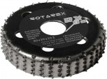 Rotační rašple ROTAREX Black Mamba RX 90mm 205090
