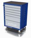 Dílenský vozík ERBA 7 uzamykatelných zásuvek, bez nářadí ER-14208