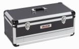 Hliníkový kufr KREATOR 620x300x255mm 1 zásuvka KRT640603B