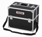 Hliníkový kufr KREATOR 360x230x300mm černý KRT640301B