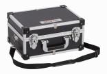 Hliníkový kufr KREATOR 320x230x160mm černý KRT640106B