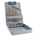 Vrtáky do kovu MAGG sada 13 kusů 1-6,5mm Cobaltové  26020