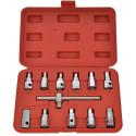Nástrčné klíče na zátky olejových van GEKO sada 12ks G02710
