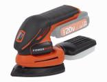 Aku vibrační delta bruska POWERPLUS 20V (bez aku) POWDP5020