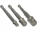 """Adaptéry pro nástrčné ořechy FESTA 1/4"""", 3/8"""", 1/2"""" 18604"""