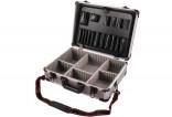 Hliníkový kufr EXTOL 450x330x150mm vhodný na nářadí 9700