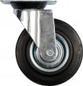Kolečko otočné VOREL 150kg gumové 200/46/235mm TO-87317