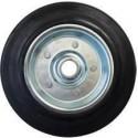 Kolo gumové černé ERBA 200mm, 20,5mm, 230kg  ER-33144