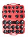Sada miskovitých klíčů AIP na olejové filtry  30 dílů   AIP1036