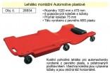 Lehátko montážní AUTOMOTIVE plastové 1200x470mm 26934