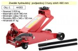 Zvedák hydraulický AUTOMOTIVE 3t, zdvih 490mm podjezdový  44363
