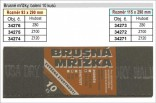 Brusné mřížky JIANGSU 115x290mm hrubost 100 balení 10ks  34272