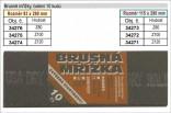 Brusné mřížky JIANGSU 93x290mm hrubost 120 balení 10ks 34274