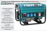 Generátor proudu benzínový HERON 2,8kW, jednofázový 8896116