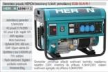 Generátor proudu benzínový HERON 5,5kW, jednofázový 8896113