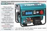 Generátor proudu benzínový HERON 6,0kW, třífázový, - elektrický start 8896114