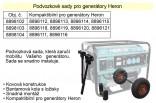 Podvozek pro generátory CHS 25-30 HERON  MA8898104