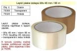 Lepící páska izolepa hnědá 48mmx66m B1124