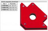 Úhelník magnetický MAGG 130x130mm  UT9004130