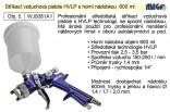 Pistole stříkací vzduchová HVLP MAGG Profi horní nádobka 600 ml   WJ0081A1