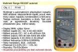 Multimetr digitální RE330F Range automat R148