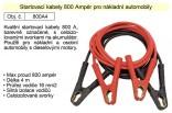 Startovací kabely délka 4m  800A