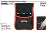Kapsář s velkou kapsou YATO  YT-7417