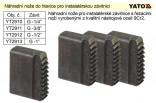 """Náhradní nože do hlavice YATO 3/8"""" pro instalatérskou závitnici  YT-2911"""