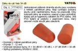 Zátky do uší YATO 34 dB  YT-74510