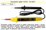 Zkoušečka napětí AC/DC 110-500V R100