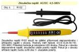 Zkoušečka napětí AC/DC 4,5-380V R102